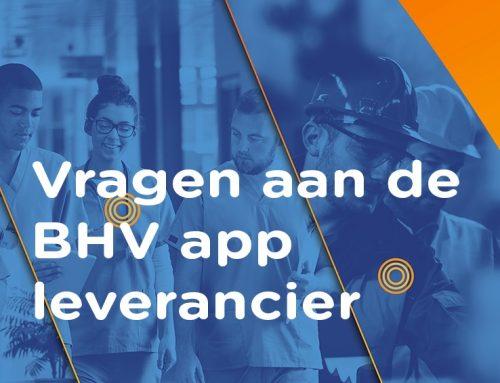 21 vragen om de beste BHV app te kunnen selecteren