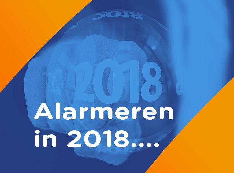 voorspelling alarmeren 2018