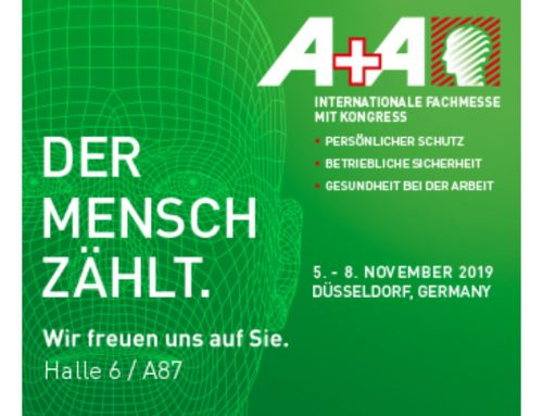 Internationale Fachmesse A+A 2019.