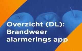 overzicht Alarmerings app brandweer Duitsland