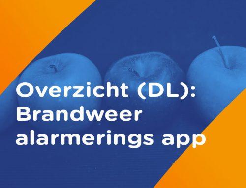 Overzicht: Brandweer alarmerings app (Duitsland)