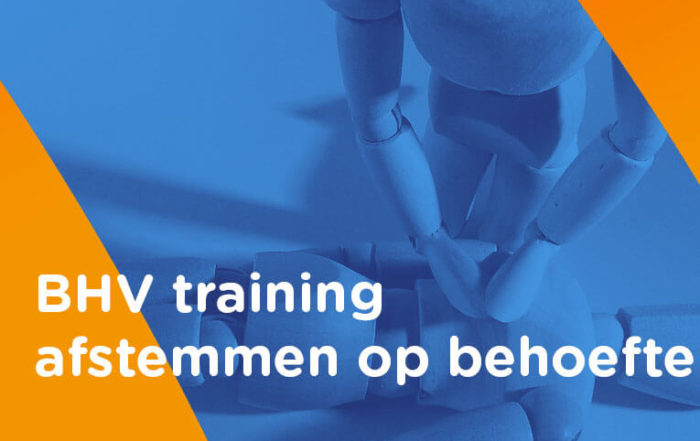 BHV training afstemmen
