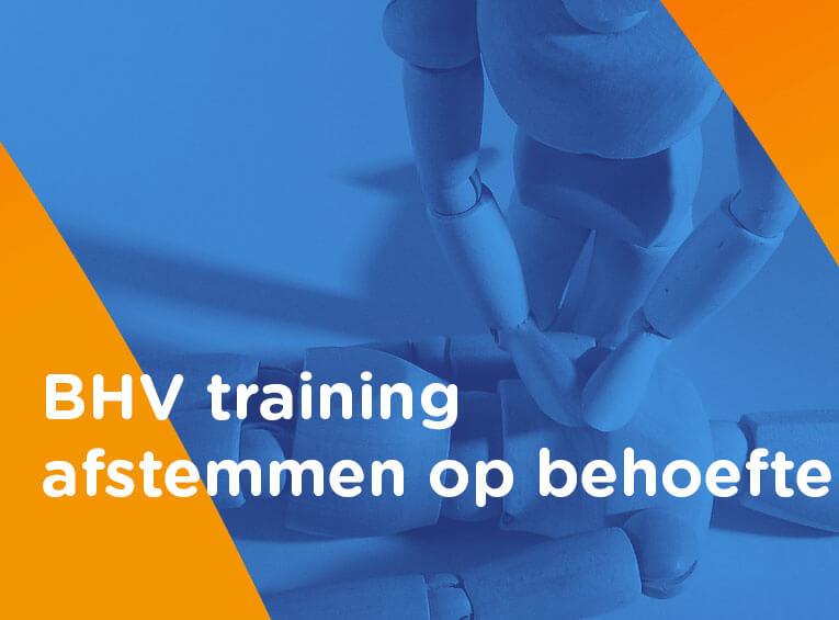 BHV training afstemmen