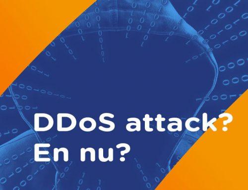 DDOS aanval? Hoe kan u de schade beperken?
