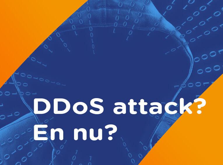 DDoS attack alarm