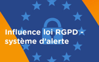 Influence loi RGPD