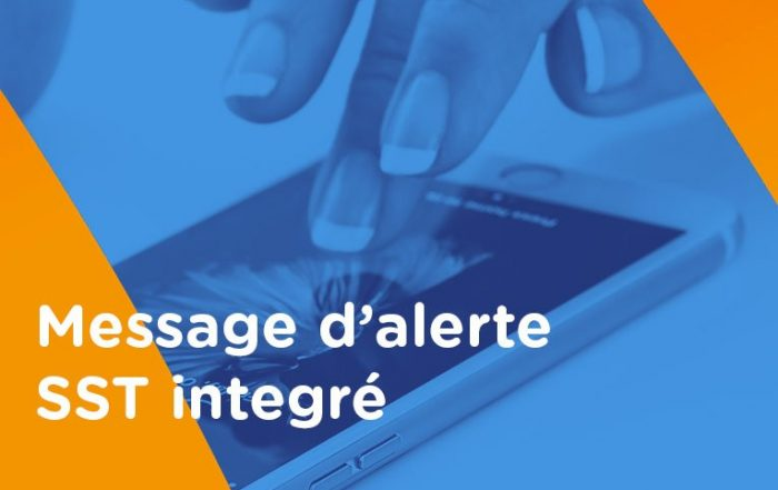 Message d'alerte