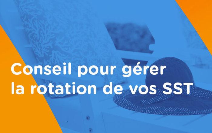 Organisation SST vacances