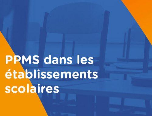 PPMS: plan particulier de mise en sécurité dans les établissements scolaires