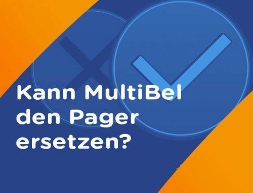 Zusatzalarmierung? Kann MultiBel sogar den Pager ersetzen?