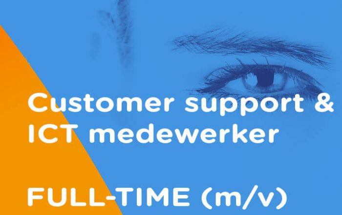 Vacature customer support ICT