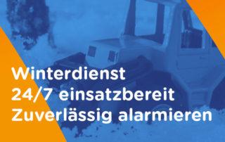 Winterdienst alarmierung
