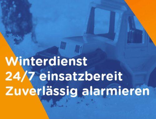 Winterdienst Alarmierung! 24/7 einsatzbereit! Zuverlässig Einsatzkräfte alarmieren